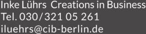 Existenzgründung, Unternehmensberatung, Lührs Berlin